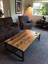 Industrial Style Coffee Table Woolooware Sutherland Area Preview