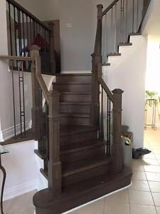 Stairs Install and Finishing