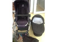 Icandy Cherry Pram /Travel System with Bag