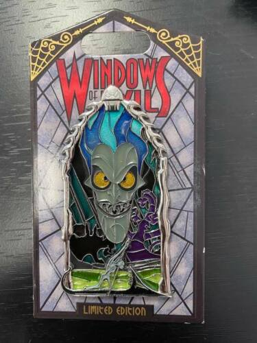 Disney 2018 Windows Of Evil HADES Pin Limited Edition 2000