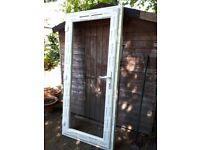 UPVC rear door - Kommberling glass door