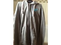 Hollister zipped hoodie (brand new) size small