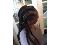 Afro Mobile Hairdresser- Braids, crochet, wig making, weave.