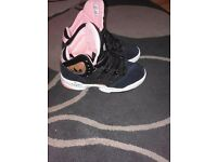 Hardly used adidas high top trainers