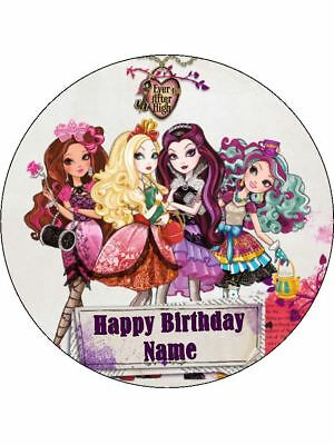 EVER AFTER HIGH 19cm Edible Icing Image Birthday Party Cake Topper Decoration](Ever After High Decorations)