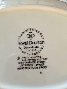 Royal Doulton dishes set.  Price is negotiable. Edmonton Edmonton Area image 2