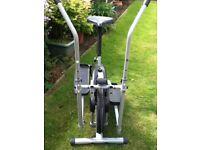 Cross Trainer/Exercise Bike