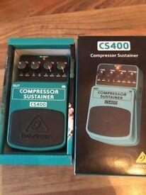Behringer CS400 pedal