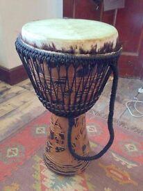 Handmade Djembe Drum (large)