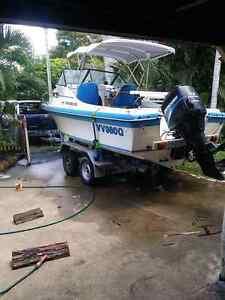 Cruise craft explorer 570 swap for camper trailer Koongal Rockhampton City Preview
