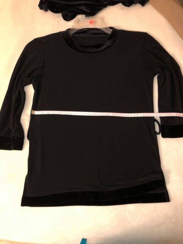 Boys Dancewear Latin Ballroom Dance Shirt Performance Training Size XS/S