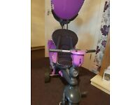 Purple Smart Trike Splash