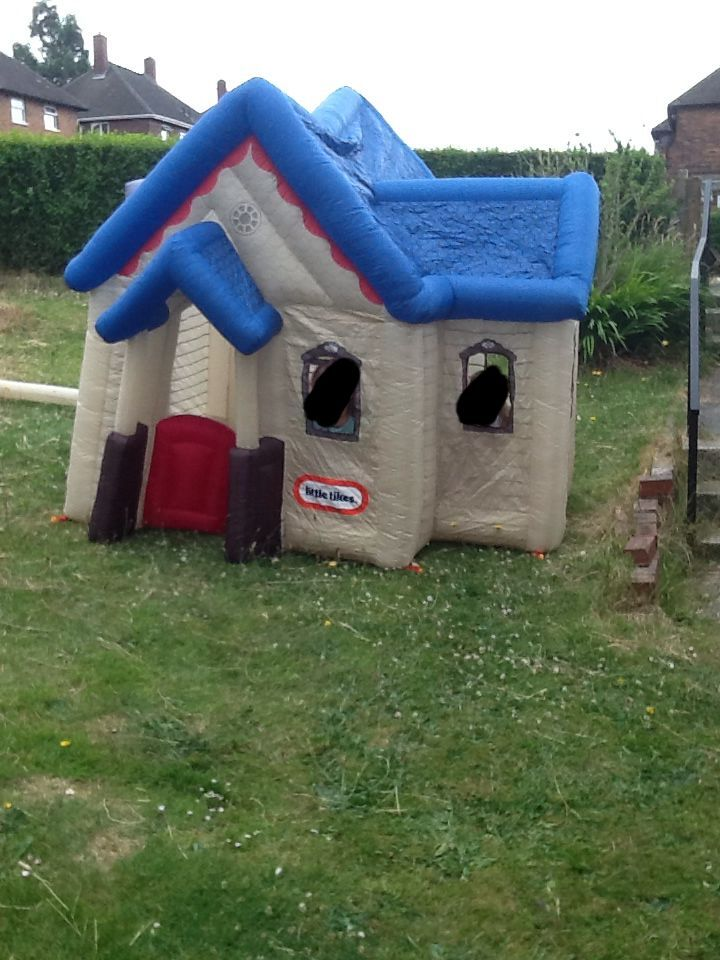 Little tikes victorian inflatable house in sheffield for Little tikes house
