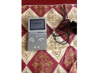 Game boy sp advance with games and charger
