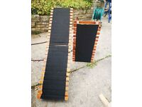 Folding dog ramps, 2 x available