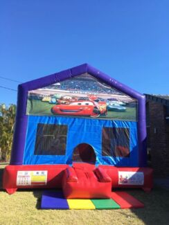Cars C4 combo Jumping Castle Hire $249 Full Day