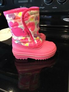 Toddler girl winter boots