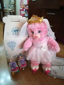 Look like new Pink Teddy Build A Bear