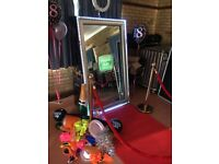 Magic Mirror & Photo Booth hire for weddings & events from £49.99