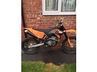 Ktm 505 rare bike