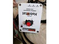 high range dimming thermostat for bearded dragons /reptiles
