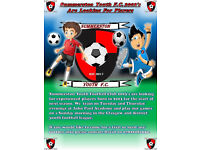 SUMMERSTON YOUTH F.C. 2003's looking for players for all positions