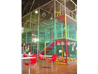 Mature person to provide customer service to parents in children's indoor soft play area Bushey