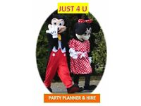 BOUNCY CASTLE HIRE/ PARTY HIRE/KIDS PARTY PLANNER WE COVER ALL AREAS WITHIN LONDON