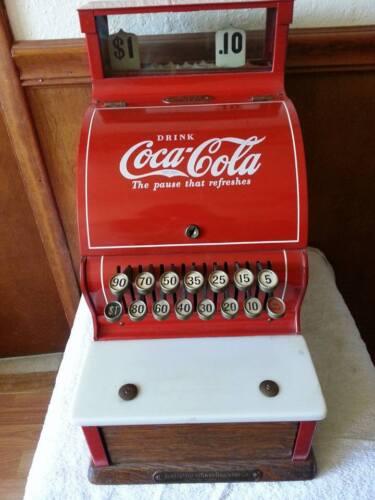 Vintage National Model#711 Coca Cola Cash Register 1920
