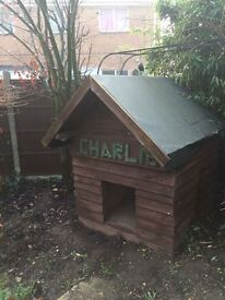 Hand made Dog kennel. Never used