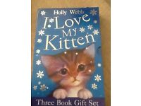 I love my kitten book box set