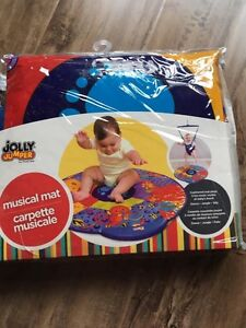 Crib wedge, musical play mat and more