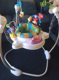 FISHER PRICE JUMPEROO, DISCOVER & GROW. Good condition