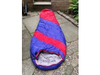 HIGHPOINT Kalmar four season sleeping bag, used once with liner.