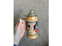 German beer mug