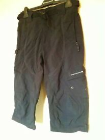 Endura Hummvee 3/4 length MTB shorts, small.