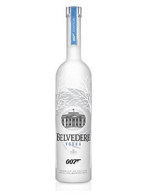 Vodka BELVEDERE 007 Spectre in EDIZIONE LIMITATA James Bond 2015 Bottiglia CL 70