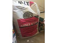 Ardex flexible tile adhesive x 5 bags - White