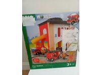 Brio World Fire & Rescue Station 33833 New Sealed