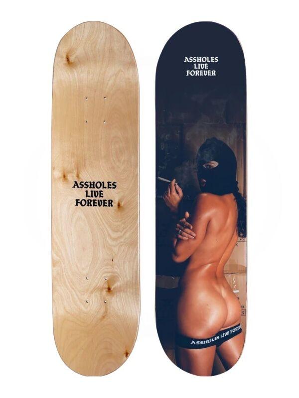 "Hot Girl Skate Deck 8"" x 31"" Canadian Maple Skateboard"