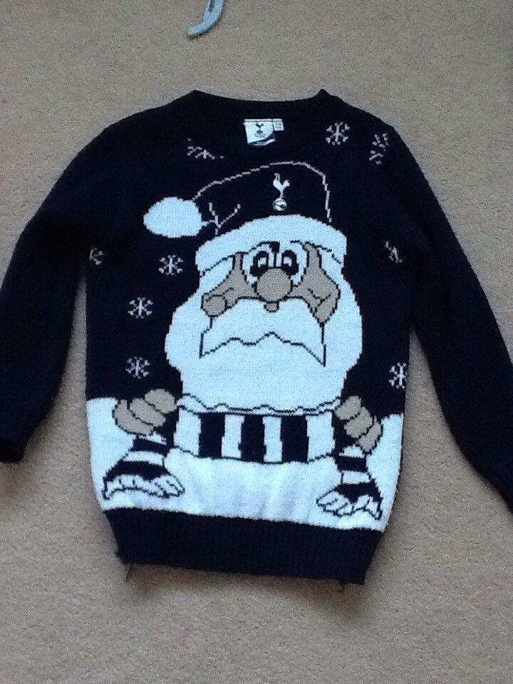 Tottenham Hotspurs Christmas Jumper Official Merchandise