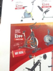 Spin Bike for a Spun Out Price of $399 Osborne Park Stirling Area Preview
