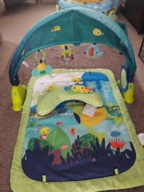 Gorgeous Bright Starts Lagoon Baby Play Mat Great Condition