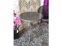 New and Ready Assembled Bari metal 2 seater bistro table