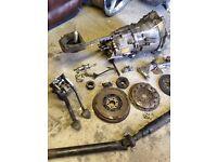 Bmw e46 5 speed manual gearbox conversion getrag 318ci n42 2.0l