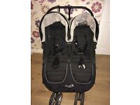 City mini jogger double in black. Excellent condition £450 brand new selling for £250 Ono