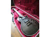 ESP LTD EC-401 Guitar See-thru Black