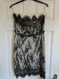 Paper Dolls strapless dress 12 NEW