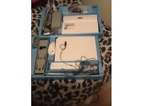Wii games console+games