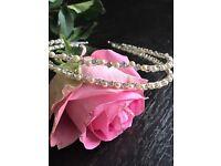 Handmade Swarovski Pearl and Crystal Headband
